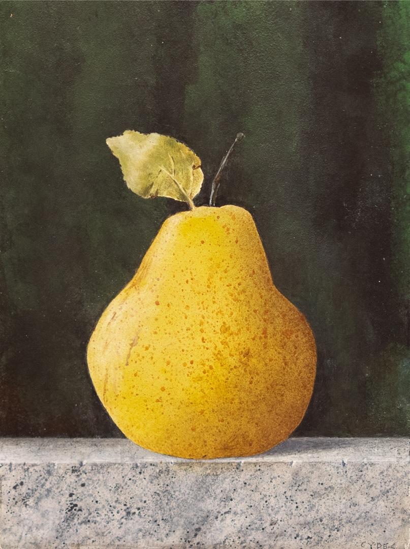 """<em>Pear</em>, 8x6"""""""