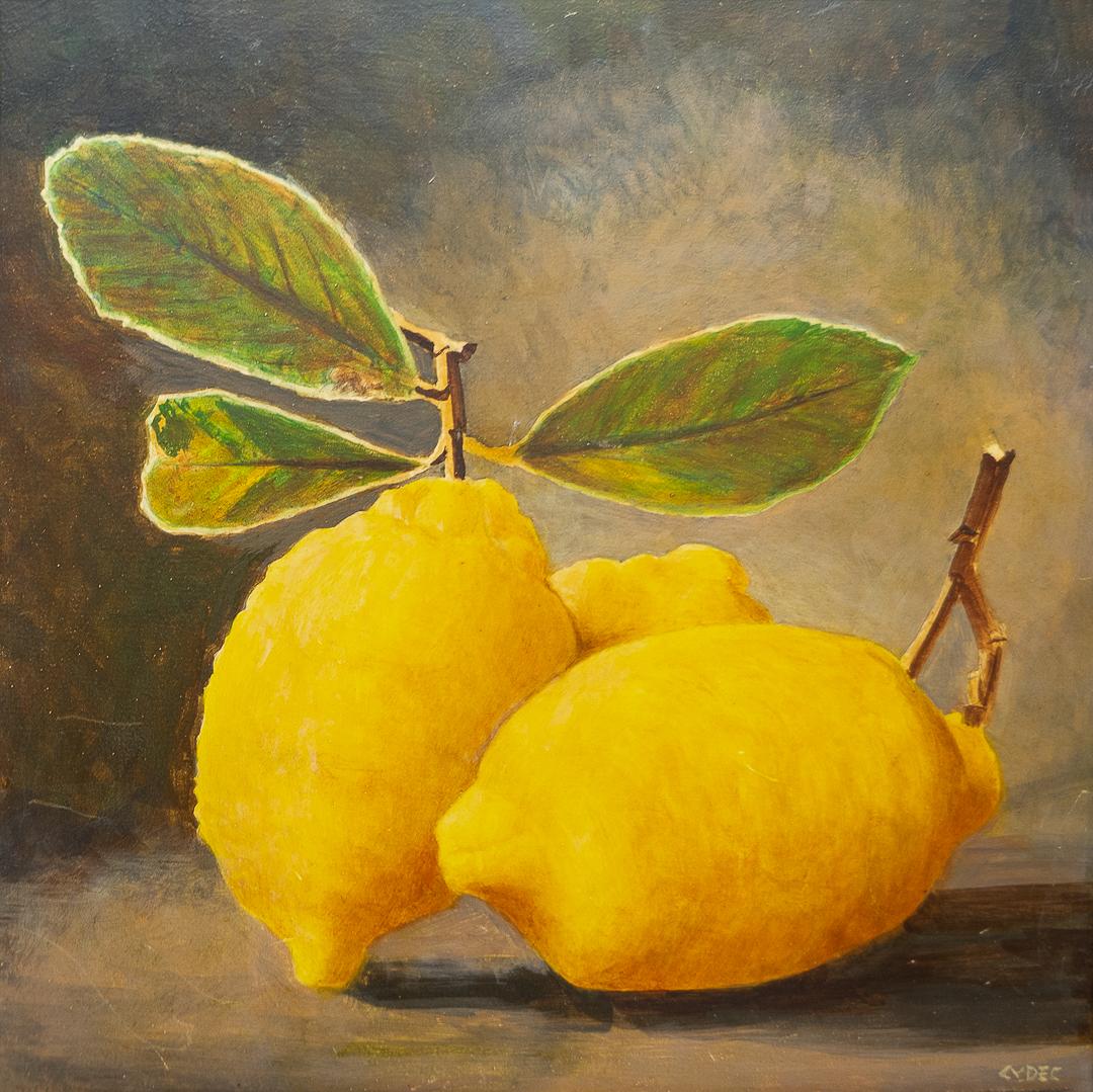 """<em>Two Lemons</em>, 8x8"""""""
