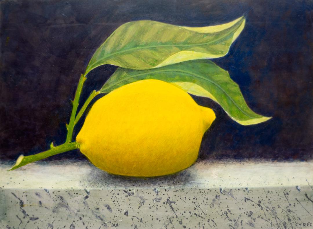 "<em>Lemon</em>, 6x8"""